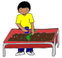 Picture For Classroom   Therapy Use   Great Sensory Table Clipart