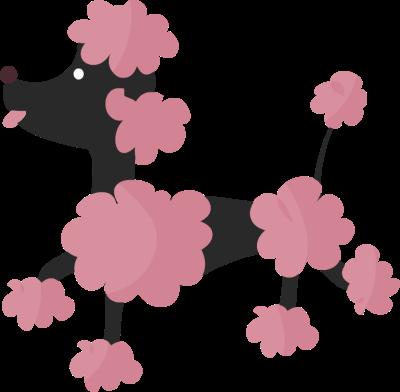 Clip Art Poodle Clip Art poodle clipart kid pink clip art best