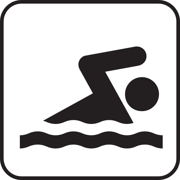 Swimming Clip Art At Clker Com   Vector Clip Art Online Royalty Free