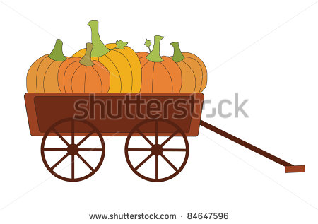 Fall Wagon Clipart Clipart Suggest
