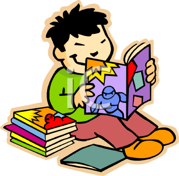 Finished Of A Book Clipart - Clipart Kid
