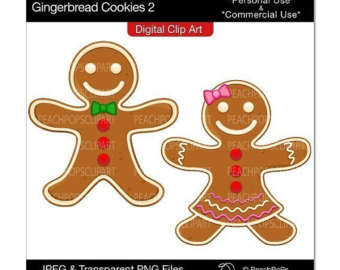 Gingerbread Girl Cookie Clipart - Clipart Suggest