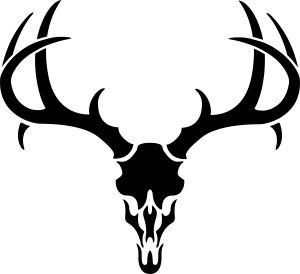 Deer Antler Silhouette also Black And White Elk Cow 394994 as well Deer Horns Vector Design 617826560 additionally 294853 as well Buck Logo Cliparts. on deer antler heart clip art