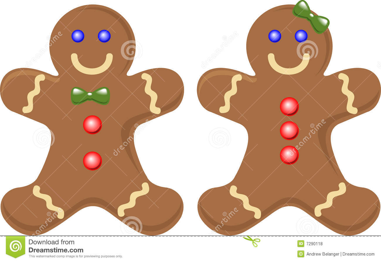 Gingerbread Couple Royalty Free Stock Photos   Image  7290118