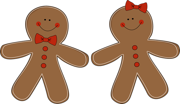 Go Back   Pix For   Gingerbread Woman Clipart