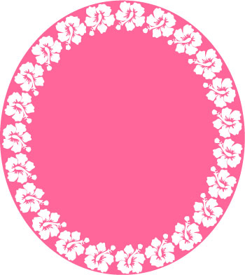Hawaiian Flower Border Clip Art   Clipart Best