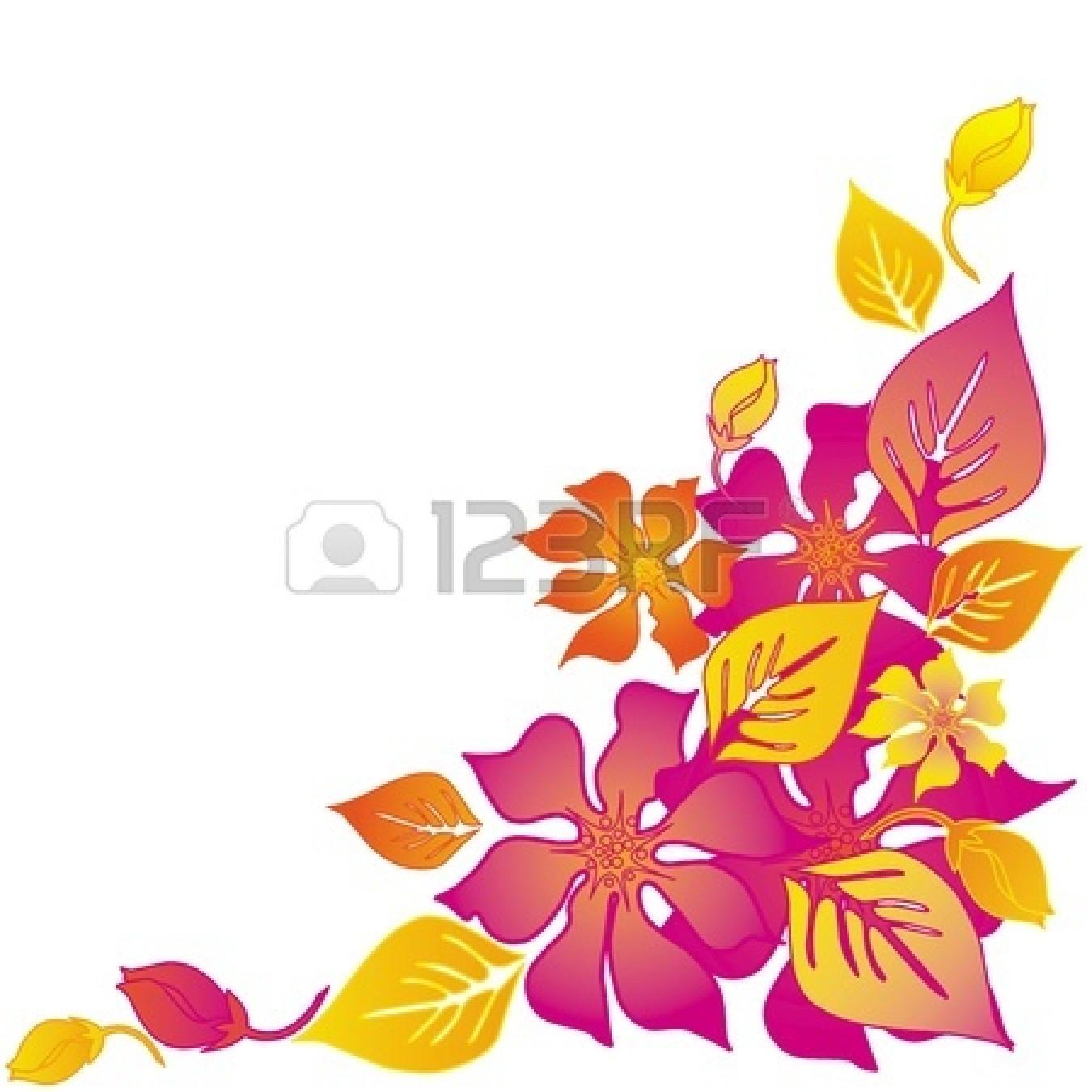 Abstract Flower Clip Art