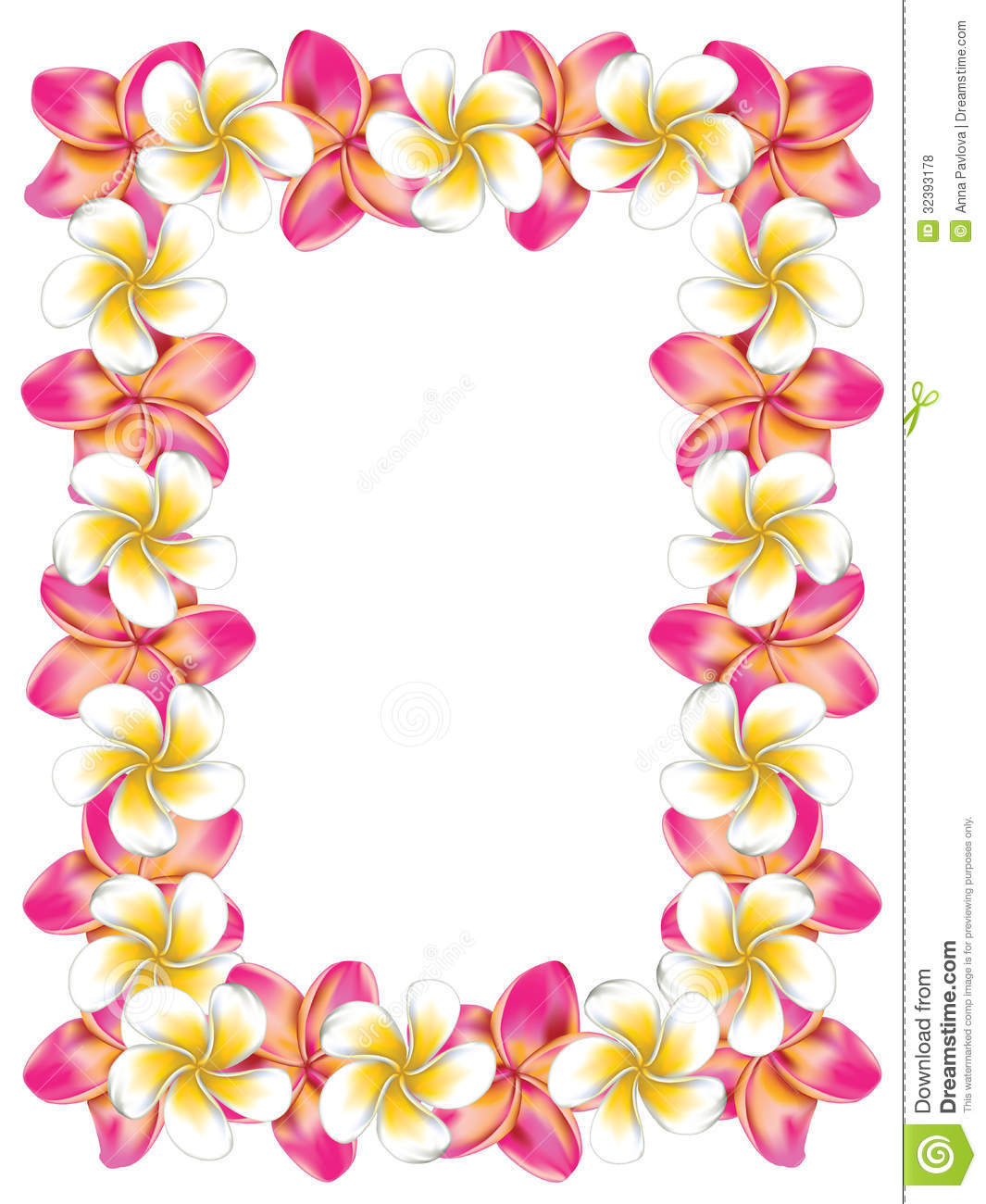 Hawaiian Frames Clipart - Clipart Kid