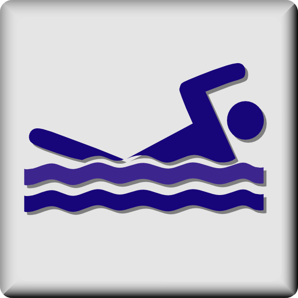 Hotel Icon Swimming Pool Clip Art At Clker Com   Vector Clip Art