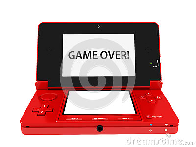 Nintendo 3ds Red Game Console