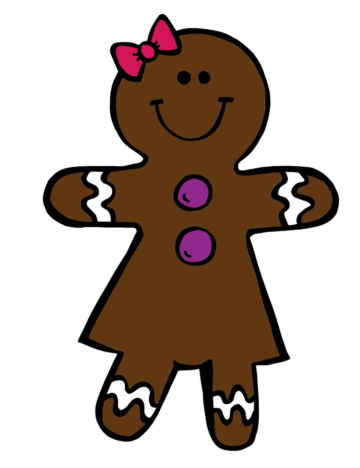 Of Teaching In Today S World  Gingerbread Boy   Girl Clipart Giveaway