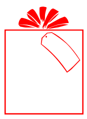 Gift Tag Clipart - Synkee