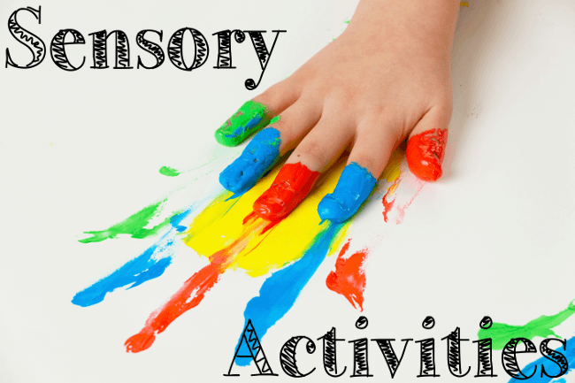 Image result for sensory activities