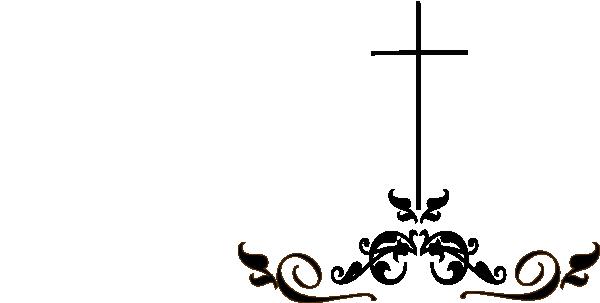 swirl black cross clip art at clker com vector clip art online