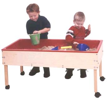 Toddler Sand And Water Table Sand And Water Table Has