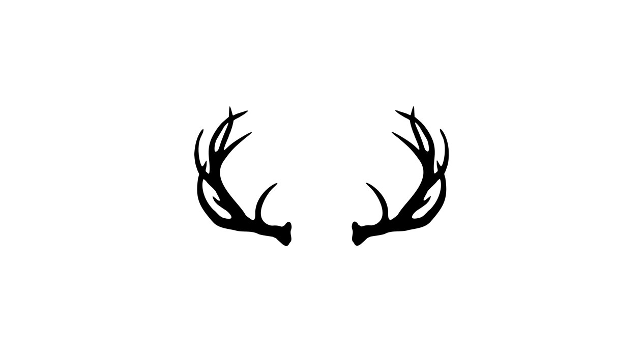 Vector Deer Antler Clip Art Deer Antler By Donaldmorrisgraphics