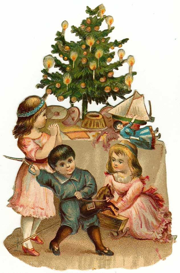 Vintage Holiday Crafts   Blog Archive   Free Vintage Christmas Clip